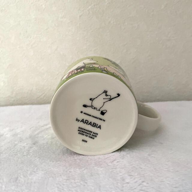 ARABIA(アラビア)のアラビア ムーミンマグカップ インテリア/住まい/日用品のキッチン/食器(グラス/カップ)の商品写真