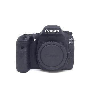 Canon - 一眼レフカメラ Canon EOS 80D(W) ボディ