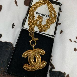 CHANEL - 美品 CHANEL シャネル ヴィンテージ  ネックレス マトラッセ ゴールド