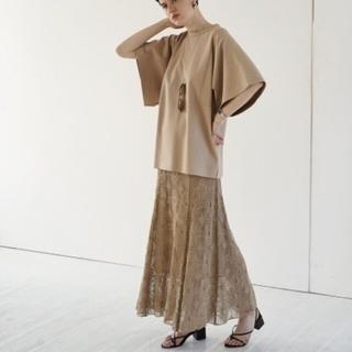 IENA - 新品✩CLANE クラシックレースマーメイドスカート