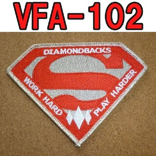 VFA-102 WORK HARD PLAY HARDER 未使用 パッチ(カスタムパーツ)