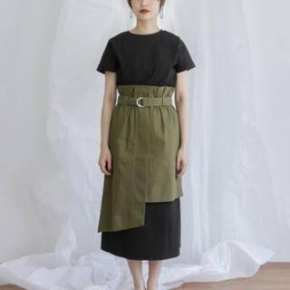 KBF - 【新品】訳ありKBFハイウエストラップスカート