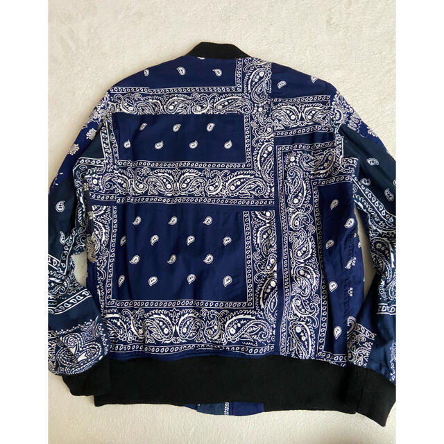 sacai(サカイ)のOLD PARK ready sacai バンダナ 再構築 miyagi シャツ メンズのジャケット/アウター(ブルゾン)の商品写真