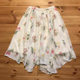 Noela - ノエラ 花柄フレアスカート