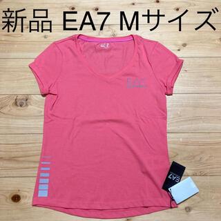 エンポリオアルマーニ(Emporio Armani)の新品 EA7 レディース Tシャツ Mサイズ フィットネス ヨガ ジム(Tシャツ(半袖/袖なし))