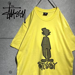 ステューシー(STUSSY)のSTUSSY ステューシー 希少デザイン シャドーマン ビッグプリント Tシャツ(Tシャツ/カットソー(半袖/袖なし))
