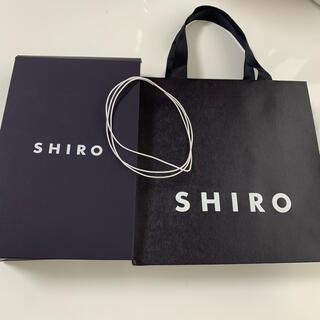 shiro - SHIRO 紙袋 ショップ袋 ショッパー ギフト用セット