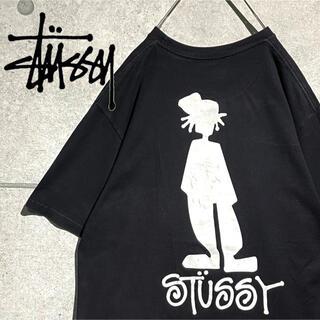 ステューシー(STUSSY)のSTUSSY ステューシー 人気デザイン シャドーマン バックプリント Tシャツ(Tシャツ/カットソー(半袖/袖なし))