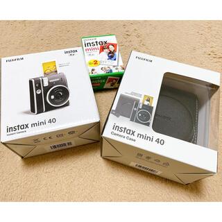 富士フイルム - instax mini 40 セット (本体+ケース+フィルム)