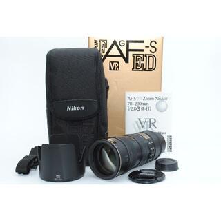 ニコン(Nikon)の★新品級 Nikon AF-S VR ED 70-200mm F 2.8 G (レンズ(ズーム))