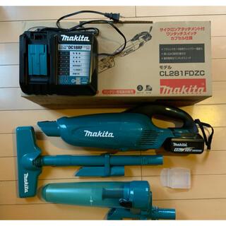 Makita - マキタ Makita コードレスクリーナー CL281FDZC 掃除機セット