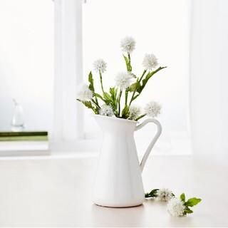 IKEA - イケア ソッケルエールト 花瓶 16cm ホワイト(10191631)