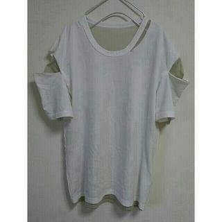 BEAUTY&YOUTH UNITED ARROWS - 6(ROKU)  PERVERZE  ダメージTシャツ