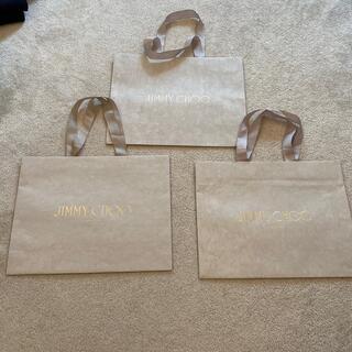 ジミーチュウ(JIMMY CHOO)の3枚セット JIMMY CHOO ジミーチュウ ショッパー ショップ袋 (ショップ袋)