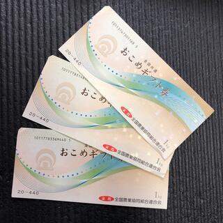 お米ギフト券(その他)
