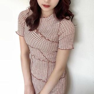 snidel - メローデザインワンピース♡ snidel 新品未使用