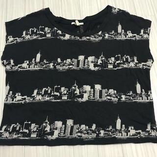 フォーエバートゥエンティーワン(FOREVER 21)のforever21  フォーエバー Tシャツ グレー S(Tシャツ(半袖/袖なし))
