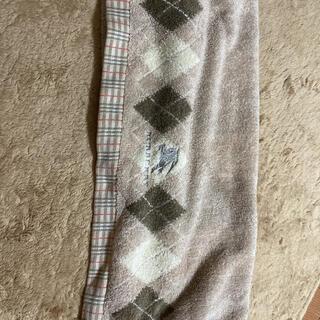 バーバリーブルーレーベル(BURBERRY BLUE LABEL)のバーバリーのバスタオル(タオル/バス用品)