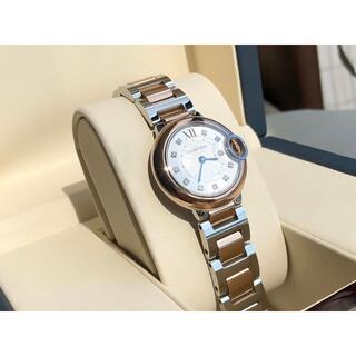 Cartier - 稀少!!カルティエ バロンブルー SM 28mm PG ダイヤ美品