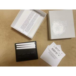 マルタンマルジェラ(Maison Martin Margiela)のマルジェラ カードケース(名刺入れ/定期入れ)