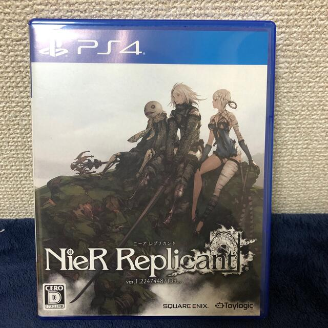 PlayStation4(プレイステーション4)のNieR Replicant ver.1.22474487139... PS4 エンタメ/ホビーのゲームソフト/ゲーム機本体(家庭用ゲームソフト)の商品写真