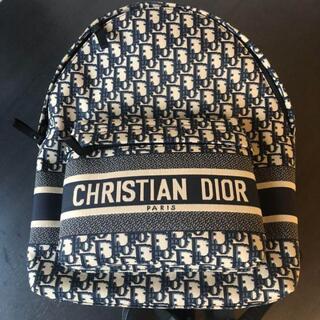 クリスチャンディオール(Christian Dior)のディオール オブリーク テクニカルジャガード トラベルバックパック(バッグパック/リュック)