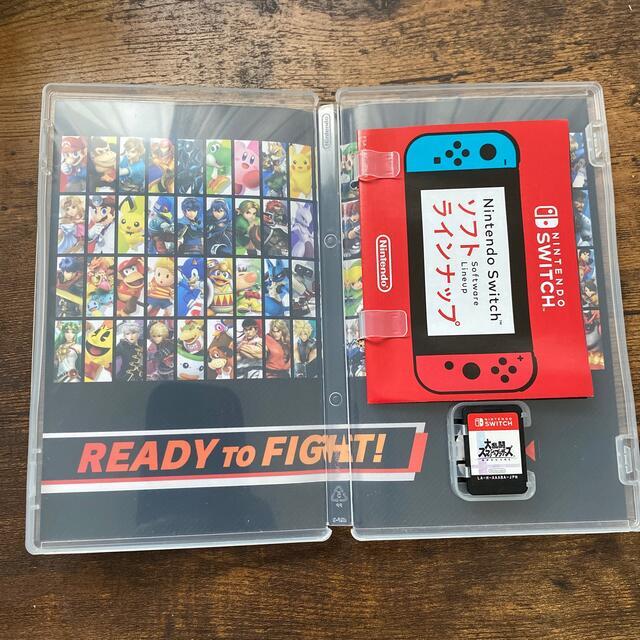 大乱闘スマッシュブラザーズ SPECIAL Switch エンタメ/ホビーのゲームソフト/ゲーム機本体(家庭用ゲームソフト)の商品写真