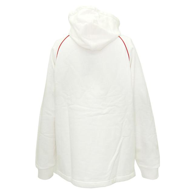 Gucci(グッチ)のグッチ  パーカー  ウェブ&GUCCI ラベル付き スウェットシャツ メンズのトップス(パーカー)の商品写真