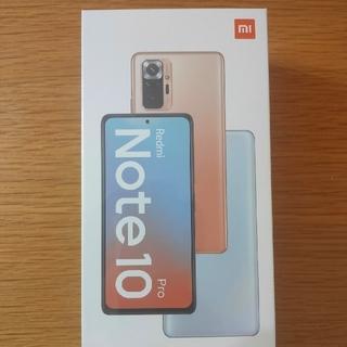 【新品未使用】Xiaomi Redmi Note 10 Pro オニキスグレー