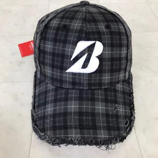 ブリヂストン(BRIDGESTONE)の新品タグ付き BRIDGESTONE GOLF ダメージキャップ帽子(その他)
