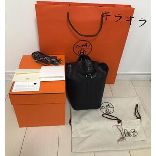 Hermes - [新品未使用]ピコタンロックPM(ブラック)