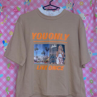スピンズ(SPINNS)のピープス系Tシャツ(Tシャツ(半袖/袖なし))