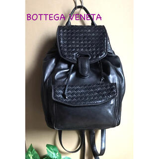 Bottega Veneta - BOTTEGA VENETA ボッテガヴェネタ リュックサック ブラック