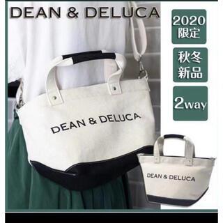 DEAN & DELUCA - DEAN&DELUCA ショルダーバッグ キャンバストート 2way