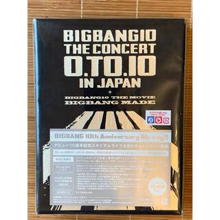 ビッグバン(BIGBANG)のBIGBANG 10 THE CONCERT:0.TO.10 ブルーレイ 初回(ミュージック)
