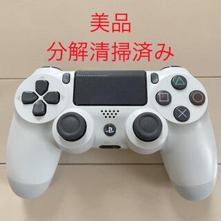 PlayStation4 - 美品 SONY PS4 純正 コントローラー DUALSHOCK4 ホワイト