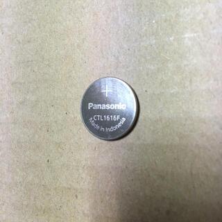 パナソニック(Panasonic)のPanasonic CTL1616f G-SHOCK タフソーラー 交換用充電池(その他)