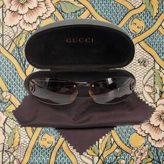 グッチ(Gucci)のグッチ GUCCI サングラス ブラウン グラデーションレンズ ユニセックス(サングラス/メガネ)