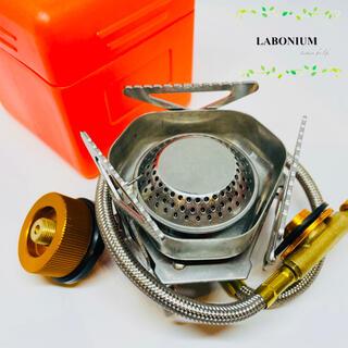 シングルバーナー  ガスコンロ CB缶 OD缶 変換プラグ ウインドスクリーン