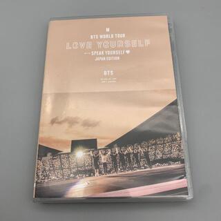 BTS WORLD TOUR 'SPEAK YOURSELF' (通常盤)DVD