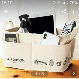 リサラーソン(Lisa Larson)のInRed 9月号 付録リサ・ラーソン外ポケット付き収納ボックス(小物入れ)