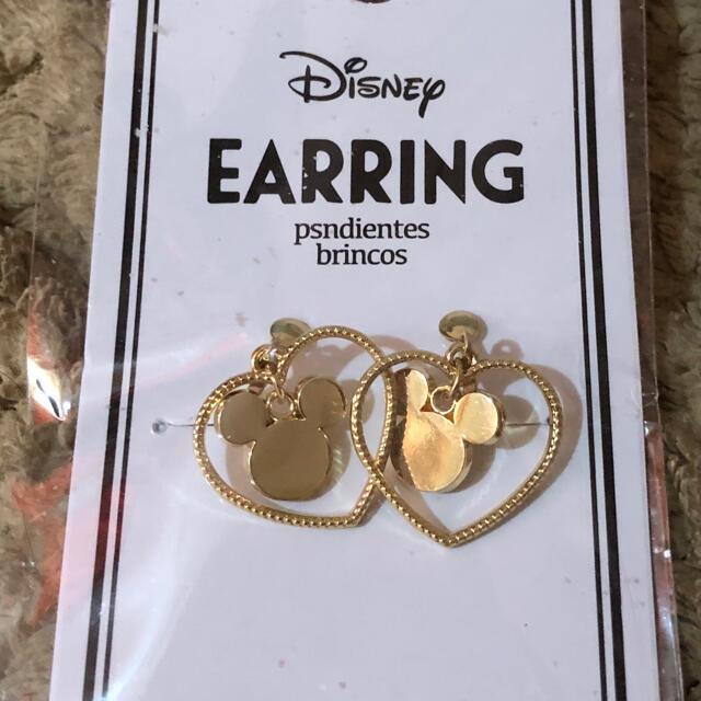 Disney(ディズニー)のディズニー、イヤリング、未使用、DISNEY レディースのアクセサリー(イヤリング)の商品写真
