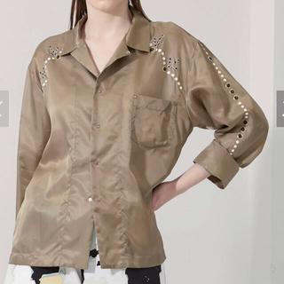 TOGA - TOGA PULLA インナーウエスタンシャツ ブラウン サイズ36