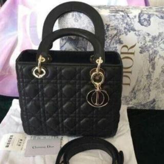 Dior - DIORブラックハンドバッグ
