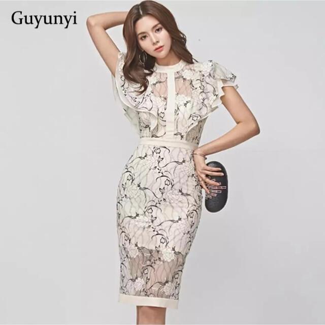 dazzy store(デイジーストア)の【大人気】キャバドレス パーティードレス インポートドレス レディースのフォーマル/ドレス(ミディアムドレス)の商品写真