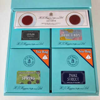 英国王室御用達  H.R.Higgins  紅茶セット(茶)