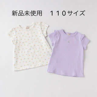 petit main - 今季☆新品未使用!プティマイン プティプラGIRLS Tシャツセット 110