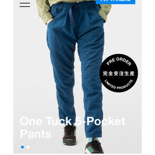patagonia - 山と道 one Tuck 5-Pocket Pants