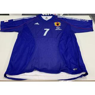 アディダス(adidas)のFIFA WORLD CUP 2002 オーセンティック ユニフォーム 中田英寿(応援グッズ)
