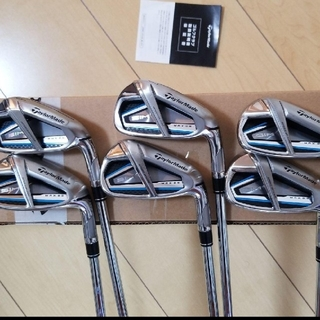 TaylorMade - SIM MAX OS スチール KBS6-9 pw aw 6本セットほぼ新品‼️